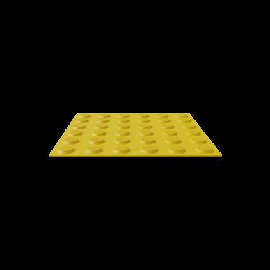 Polyurethane Tactile Tile with Warning Studs Self Adhesive